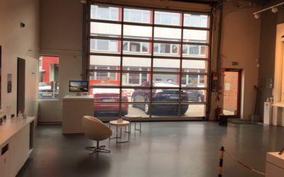 1.001,42 m² große Produktionshalle/ Showroom zu vermieten